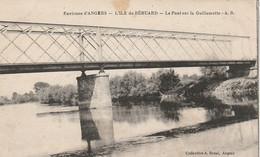 Béhuard 49 (3264) L'île De Béhuard -Le Pont Sur La Guillemette - Autres Communes