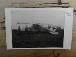 Carte Photo Prise D'un Avion Allemand ................ 1053 - 1914-1918: 1ra Guerra