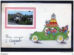 63 - CEYSSAT - Bien Arrivés - Other Municipalities