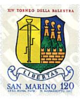 Ref. 70325 * MNH * - SAN MARINO. 1979. 14 BALLESTA TOURNAMENT . 14 TORNEO DE LA BALLESTA - Waffenschiessen