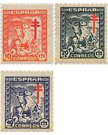Ref. 624503 * MNH * - SPAIN. 1944. ANTI-TUBERCULOSIS . ANTITUBERCULOSIS - 1931-50 Ongebruikt