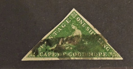 12 - 20 - Cap Of Good Hope - 1 Shilling Green - Yvert 6a - Value 250 Euros - Nice Stamp - Capo Di Buona Speranza (1853-1904)