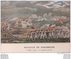 BATAILLE DE FRAUBRUNN - CAMPAGNE DE 1798 - ARMÉE D'HELVÉTIQUE - Other