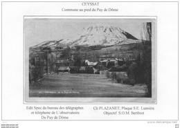 63 - CEYSSAT Et Le Puy De Dome - Other Municipalities