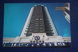 "Russia. Chechen Republic - Chechnya. Groznyi Capital, Hotel ""Grozny City"" - Modern Postcard 2000s - Chechnya"
