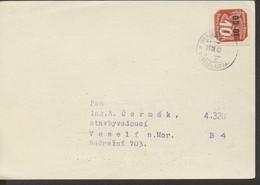 Böhmen Und Mähren # 51 Massendrucksache Einzelfrankatur Prag > Wesseli 19.3.40 - Storia Postale