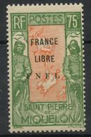 Saint Pierre Et Miquelon (1941) N 286 (Charniere) - Ongebruikt