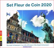BELGIE - BU SET 2020 - DE STAD ANTWERPEN - 8.88 € (10 MUNTEN) - Belgium
