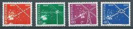 Suisse YT N°517/520 Service Des Télécommunications Neuf ** - Unused Stamps