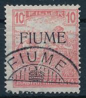 O Fiume 1918 Arató 10f M II. Certificate: Bodor (Sassone EUR 24.000,-) - Sin Clasificación