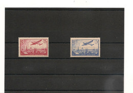 1936 P.A.N° 11-12**   Côte : 95,00 € - 1927-1959 Mint/hinged