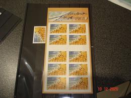"""FRANCE  ANNEE 2001 NEUFS  N° YVERT 3400 ET CARNET COMMEMORATIF NON PLIE N° BC3400A      """"BONNES VACANCES"""" - Sammlungen (ohne Album)"""