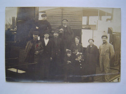 CARTE PHOTO Ancienne  : CIE EXPRESS FLUVIAL / BATEAU GANGE Ou PARANA - Boats