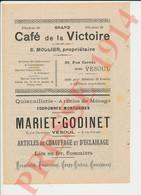 Publicité 1914 Mollier Mariet Godinet Vesoul Garret Gaudey Gavaille Genty Gillet Girardot Giraux Goux Grangeret 231CH29 - Non Classificati