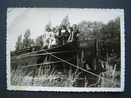 PHOTO Ancienne 1964 : BATEAU - PENICHE KID à AUBY ( NORD ) - Boats