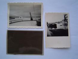 2 X PHOTO Ancienne 1965 : BATEAU - PENICHE LE MARIA II / KID - Boats