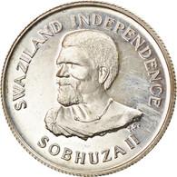 Monnaie, Swaziland, Sobhuza II, 20 Cents, 1968, SUP+, Argent, KM:3 - Swaziland