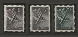 Slovaquie YT PA 7/9 TBC N** MNH - Nuovi