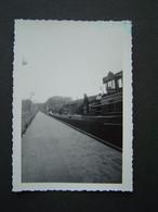 PHOTO Ancienne 1951 : BATEAU - PENICHE LE MARIA II Sur Le PONT CANAL DE BRIARE - Boats