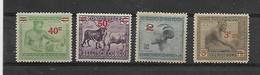 Belgisch-Kongo  N° 159/161A X Scharnier Cote 50 Euro - 1923-44: Nuevos