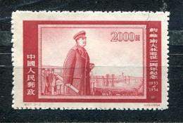 China, 1954 - Staline Architecte - Y.T. Unused - Reimpresiones Oficiales
