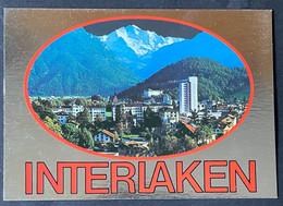 Interlaken Jungfrau/ Glanzkarte - BE Berne