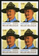 België 3633 ON - Europa 2007 - 100 Jaar Scouts - Scoutisme - Lord Baden Powell - Ongetand - Non Dentelé - No Dentado