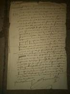 Dijon 1623:  Huguenot, Procureur De La Fabrique Saint Michel - Historische Dokumente