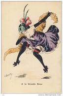 ILLUSTRATEUR ROBERTY Femme  A La Grande Roue La Danse VINTAGE POSTCARD - Women