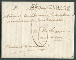 Brief Met Inhoud Gr. S'GRAVENHAGE (4 Sept.) Naar La Trapperie (LUXEMBOURG); Port '6' -TB -16758 - ...-1852 Vorläufer