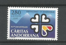Timbre Andorre Français Neuf ** N 456 - Ongebruikt