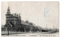 Saint-Ghislain - Vue Intérieur De La Gare. - Saint-Ghislain