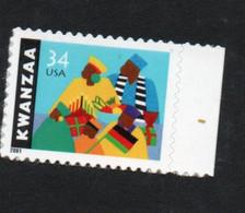 USA Scott # 3548        2001  Holiday Celebrations - Kwanza (single) 34 C  Mint NH  (MNH) - Nuevos