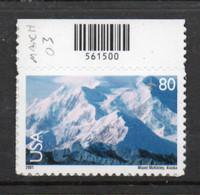 USA Scott # C137_1     2003  80c Airmail - Mount McKinley  Reissue Version   Mint NH  (MNH) - Nuevos