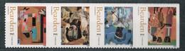 USA Scott # 4566 - 4569     2011  44c  Romare Bearden Strip Of 4 (4569a)    Mint NH  (MNH) - Nuevos