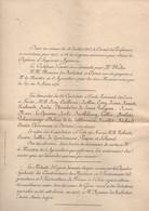 Classement Ministère De L'Agriculture Institut National Agronomique Promotion 1905 Classement De Fin D'année Et Sortie - Diploma's En Schoolrapporten