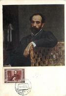 RUSSIA Maximum Card Maxicard Peintre Painter LEVITAV YT 1502 - Tarjetas Máxima
