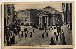 TRIESTE PIAZZA DELLA BORSA 1931 - Trieste