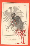 LOB1-04 Aveu De  Bethmann-Holweg  En Relation Avec La Neutralité Blege Et La Violation Par Les Allemands.Circulé 1914 - Guerra 1914-18