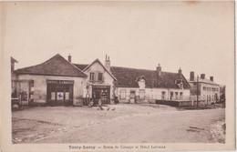 CPA : Toury Lurcy  (58) Hotel Labonne, Pompe à Essence Texaco Epicerie, En Bord De Route De Cossaye Ed Labonne - Sonstige Gemeinden