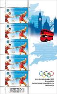 COB 4243 / Olympische Spelen Londen 2012 - Jeux Olympiques Londres 2012 / MNH ** - Velletjes