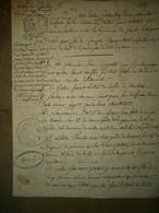 B.G Vaillant Père Du Maréchal Vaillant ( Vécu à Genlis) - Handtekening