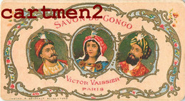 """CARTE PARFUMEE : SAVON DU CONGO VICTOR VAISSIER PARIS """" LA CARTE SENT ENCORE """" FRAGRANCE PERFUME - Vintage (until 1960)"""