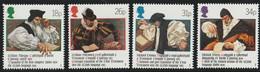 N 382) GB 1988 Mi# 1139-42 **: 400 Jahre Bibel In Walisischer Sprache, Wales, William Morgan, Salesbury, Bischof - Unused Stamps