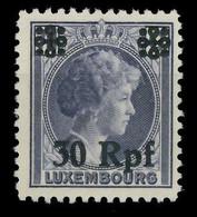 BES. 2WK LUXEMBURG Nr 27 Postfrisch X82AFA6 - Occupazione 1938 – 45