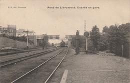Libramont , Pont De Libramont , Entrée En Gare , ( Train , Voie , Quai ) - Libramont-Chevigny