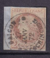 COLONIES GENERALES - 2 C. Cérès Oblitéré Sur Fragment Avec Oblitération FAUSSE - Cérès