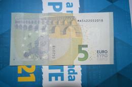 5 EURO - M007 E6 - PORTUGAL M007E6 (MA5422052018) UNC FDS NEUF - 5 Euro