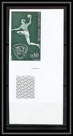 France N°1629 Championnat Du Monde De Handball 1970 Non Dentelé ** MNH (Imperforate) - Imperforates