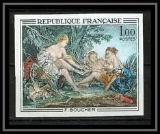 France N°1652 Tableau (Painting) Diane Retour De La Chasse Boucher Cote 100 Non Dentelé ** MNH (Imperforate) - Non Dentellati